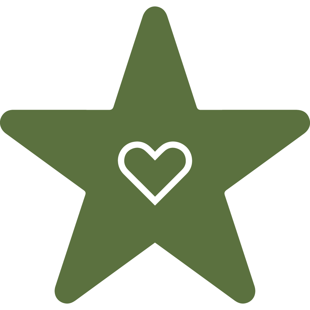 Our Mission Icon (Star & Heart) - Website Icon Illustrator File-01